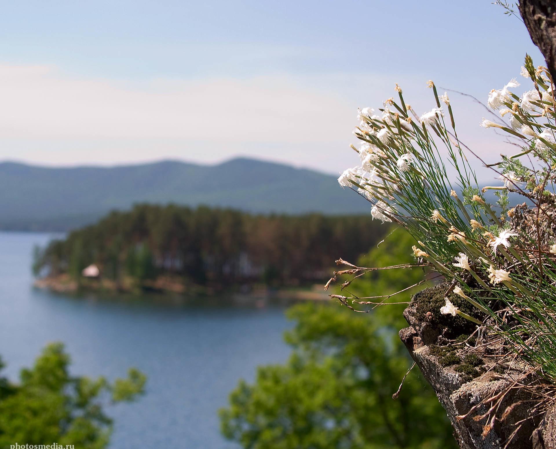 Озеро Тургояк. Фотограф Вадим Кукшинов