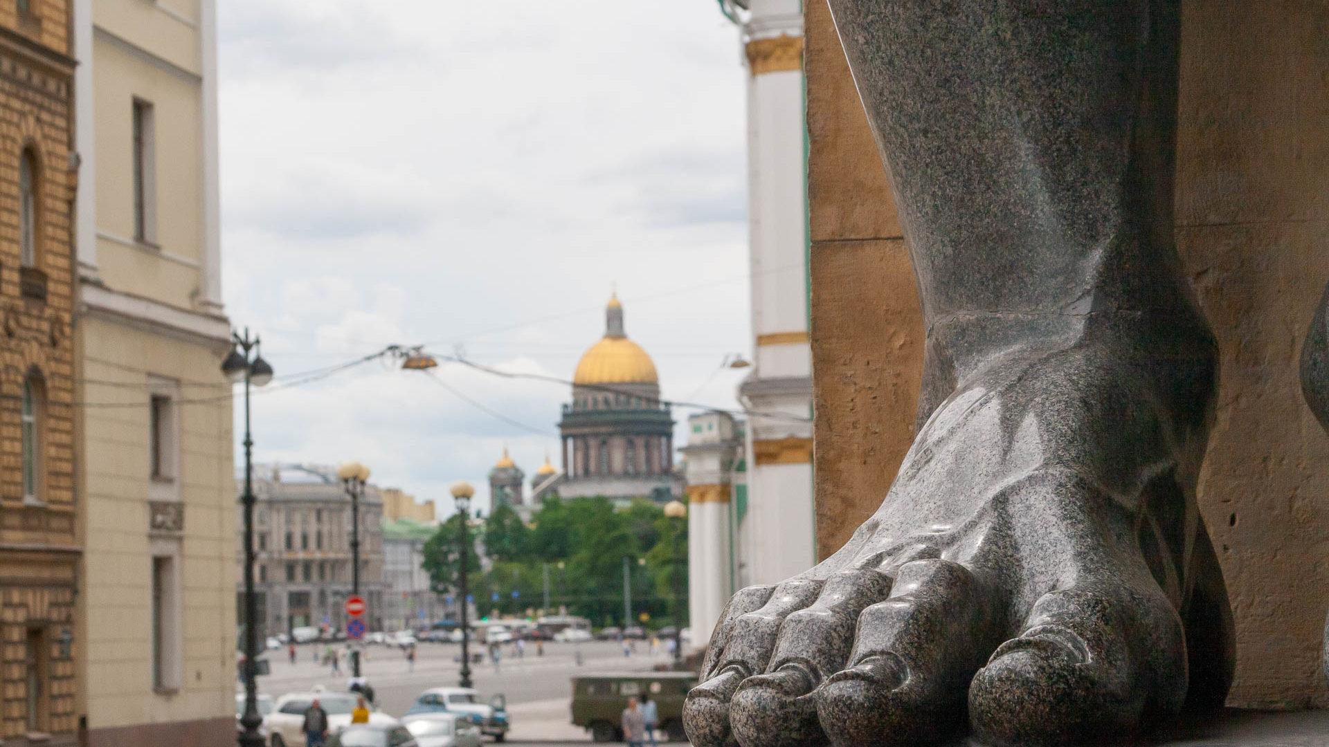 Санкт-Петербург. Эрмитаж. Фотограф Вадим Кукшинов.